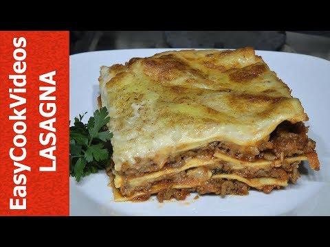 EASY LASAGNA RECIPE - HOW TO MAKE LASAGNA