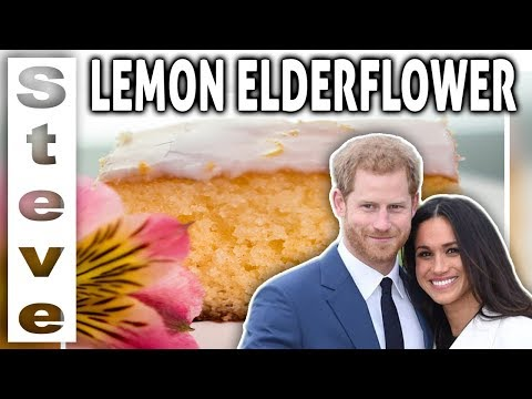 LEMON ELDERFLOWER DRIZZLE CAKE - Royal Wedding Cake