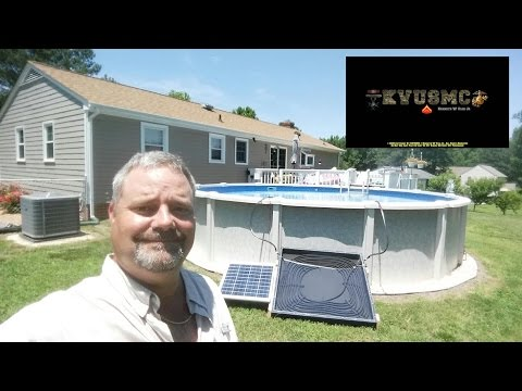 Solar Hot Water Heater/ Pool Heater Project With KVUSMC