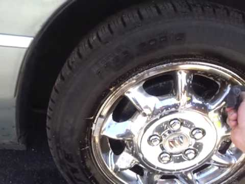 How to remove brake dust from chrome rims.