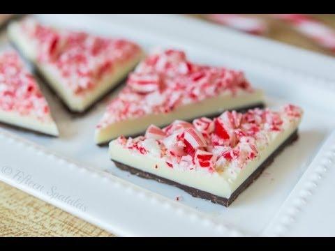 Peppermint Bark Recipe - Christmas Food Gift Idea