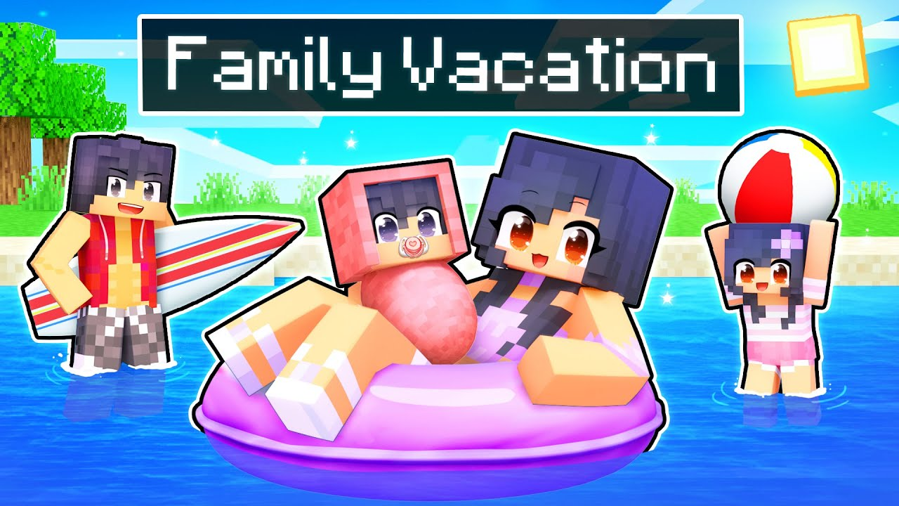 The Aphmau FAMILY VACATION In Minecraft!