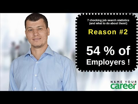 7 Shocking Job Search Statistics - #2/7