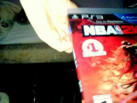 Unboxing Nba 2k12 for ps3 Michael Jordan Cover