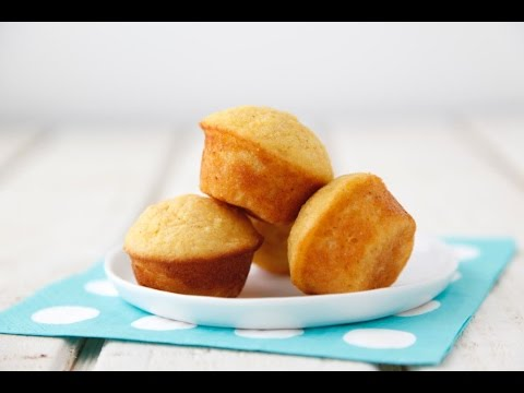 Tiny Corn Muffins - Easy Thanksgiving Sides - Weelicious