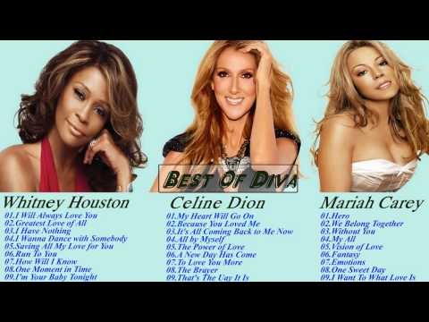 Whitney Houston , Celine Dion , Mariah Carey Greatest Hits Collection 2017