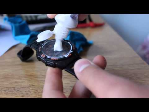 DIY how to remove scratches from a watch // hack 101 #1