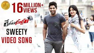 Race Gurram ᴴᴰ Video Songs | Sweety Song | Allu Arjun | Shruti Haasan | Saloni | Prakash Raj