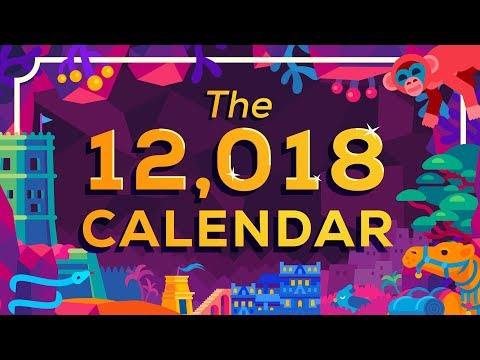 The Year 12,018 Calendar IS OUT NOW –A new calendar for humanity
