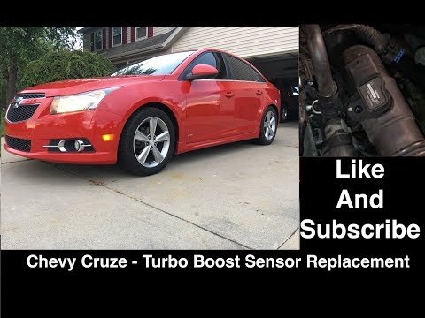 Chevy Cruze - Turbo Boost Sensor Replacement - Same for Sonic, Trax, Encore