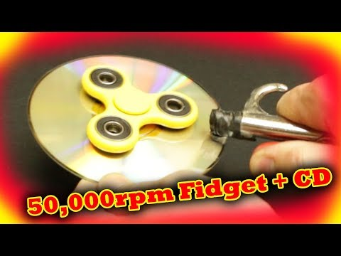 4 Epic Fidget Spinner Tricks and 50,000rpm on CD
