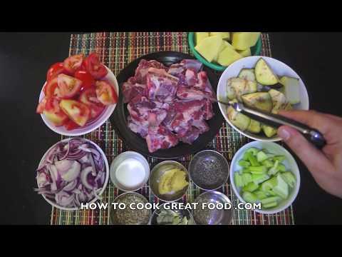Greek Lamb & Vegetable Stew Recipe - Slow cook or Pressure cooker