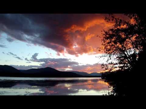 Spectacular Golden Summer Sunset - Trout Creek, Montana MT
