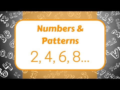 Numbers and Patterns!