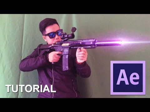 After Effects Tutorial- Laser Gun Effect