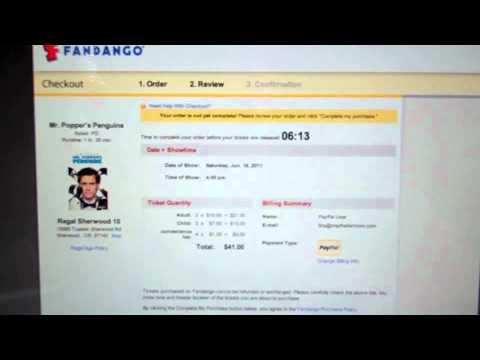 Easy Movie Tickets with Fandango