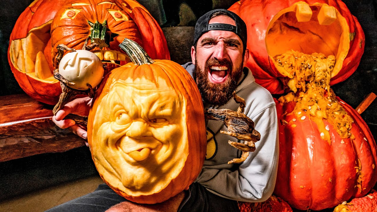 GIANT Pumpkin Carving Contest | OT 19