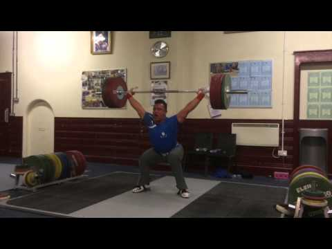 Sonny Webster weightlifting Training video 20/10/14 80's MONDAY'S