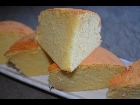 Basic Sponge Cake/Vanilla cake recipe (in Tamil with English subtitles)