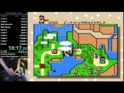 Super Mario World - 96 Exit, Dragon Coins & Moons (Lunar Dragon) - 1:33:07