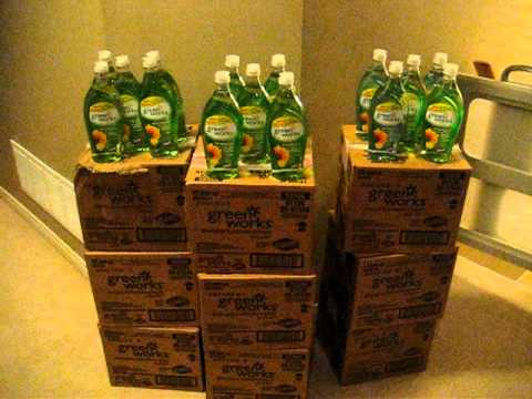 108 FREE bottles of greenworks dishsoap @ fresh co.