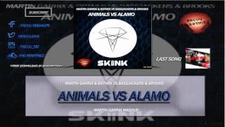 Martin Garrix & Botnek vs Bassjackers & Brooks - Animals vs Alamo (Martin Garrix Mashup)