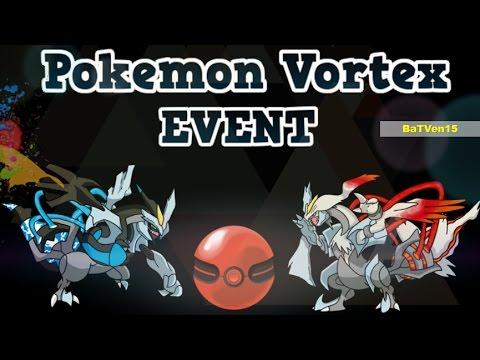 Pokemon vortex 2016 - Kyurem Black & White (EVENT CENTER) 100% REAL