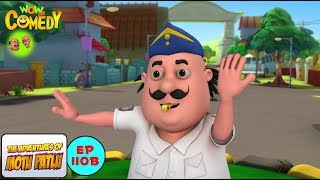 Traffic Police - Motu Patlu in Hindi - 3D Animated cartoon series for kids - As on Nick