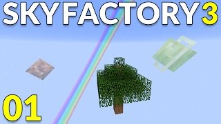 FTB Sky Factory 3 ep05 - Redstone seeds from mystical agriculture