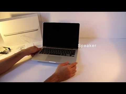 Macbook Pro 13'' retina Unboxing (early 2013)