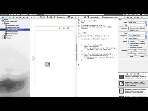 How to Make an Image Move with Touch (Swift in Xcode)