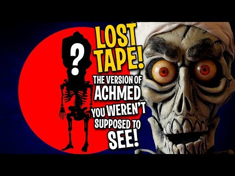 LOST TAPE! The Achmed you WEREN'T supposed to see! | JEFF DUNHAM!