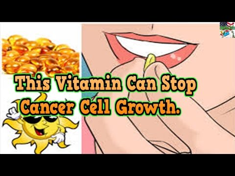 This Vitamin Can Stop Cancer Cell Growth   Useful info