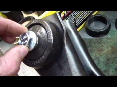 Mustang Rear Control Arm Bushing Replacement