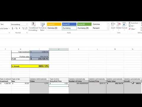 Crypto News: How to analyze and track your cryptocurrency trading portfolio live using Excel
