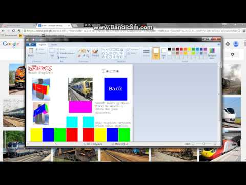 How to make shirts on roblox using windows paint
