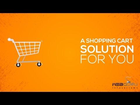 Ecommerce Website & Shopping Cart Solution from WebGuru Infosystems