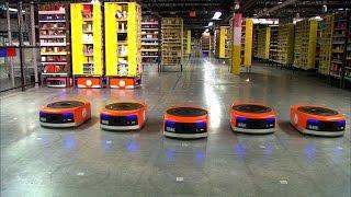 Estos son los robots que logran que tu pedido de Amazon llegue tan rápido