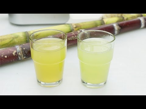 How to make Sugar Cane Juice at home