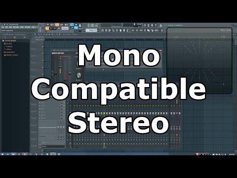 Mono Compatible Stereo Technique (FL Studio)