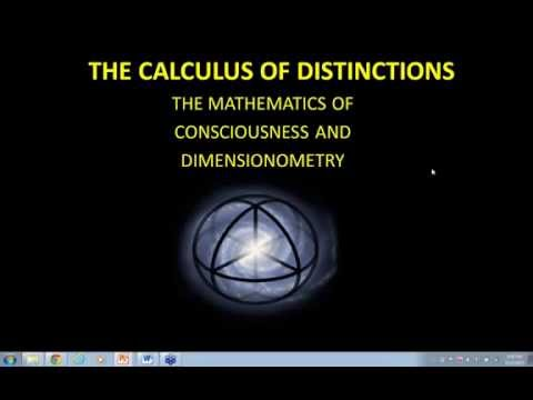 Putting Consciousness Into The Equations   The Calculus of Distinctions