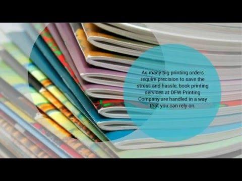 Book Printing Services Dallas - DFW Printing Company
