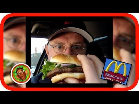 McDonalds Gourmet Angus Cheeseburger Review