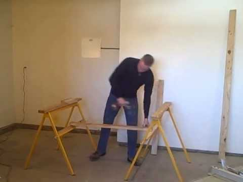 Fast Horse sawhorse/Mitersaw/Tablesaw stand ripping full sheet