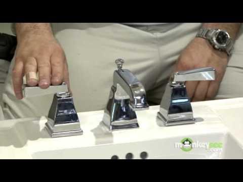 Pedestal Sink Installation - Assembling the New Faucet
