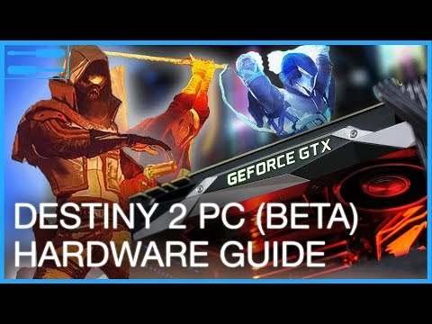 Destiny 2 PC (beta) PC Requirements Tested!