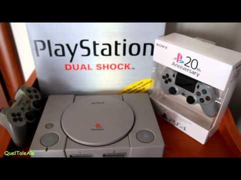 Unboxing Playstation 4 Gamepad 20th Anniversary [ITA]