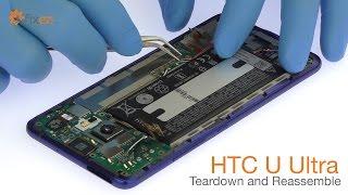 HTC U Ultra Teardown and Reassemble - Fixez.com