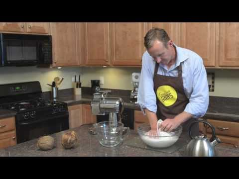 How to Make Raw Coconut Milk And Coconut Cream