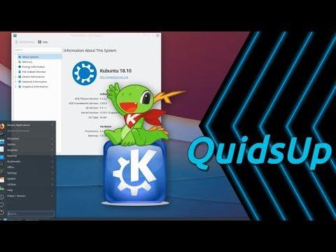 Kubuntu 18.10 with KDE Plasma 5.13.5 Review